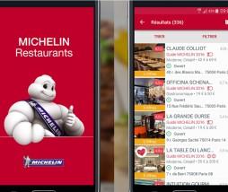 Guía Michelin digital de Francia