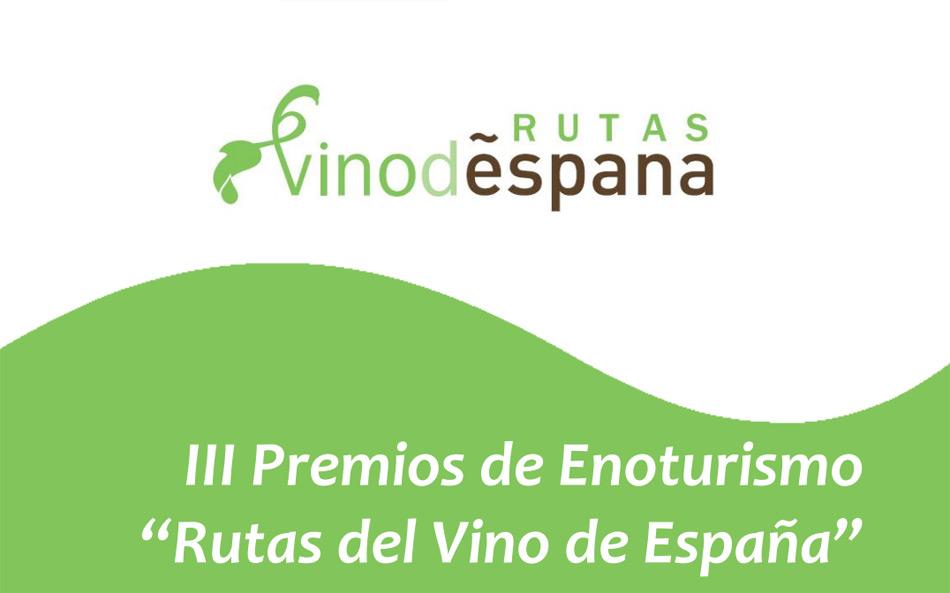 Premios de Enoturismo 'Rutas del Vino de España' 2016