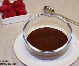 Salsa de chocolate para dieta
