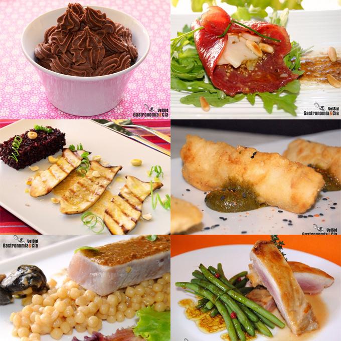 Doce recetas con praliné