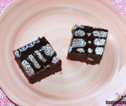 Brownie de chocolate sin horno