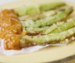 Cebolla en tempura