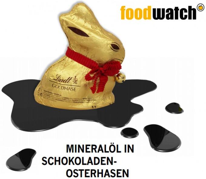 Análisis de  Foodwatch sobre los conejitos de Pascua