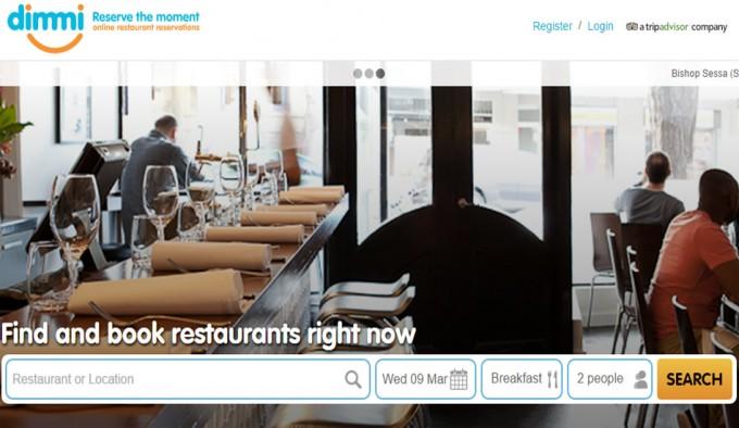 Servicio online de reserva de restaurantes