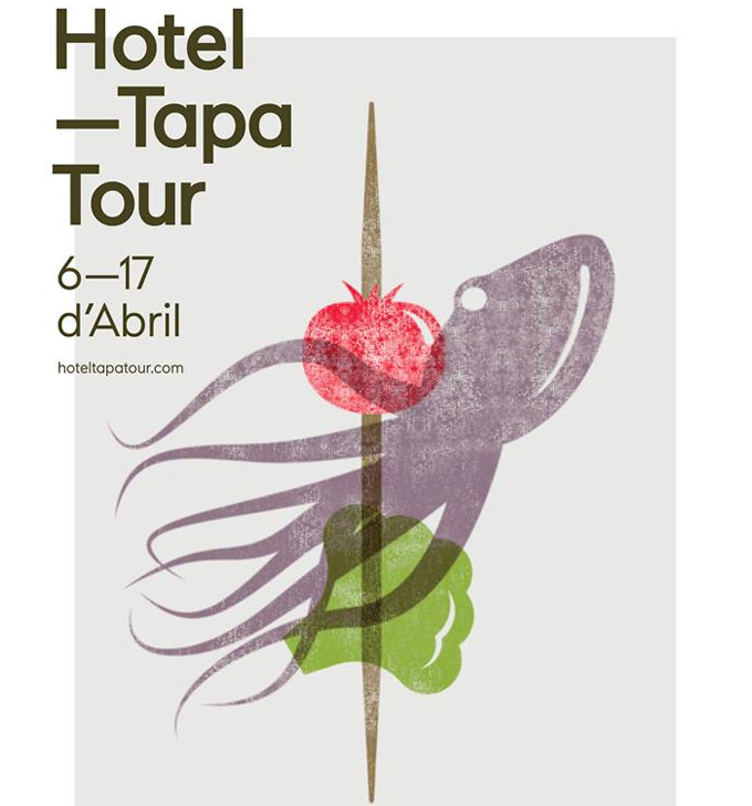 Tapas de autor en los hoteles