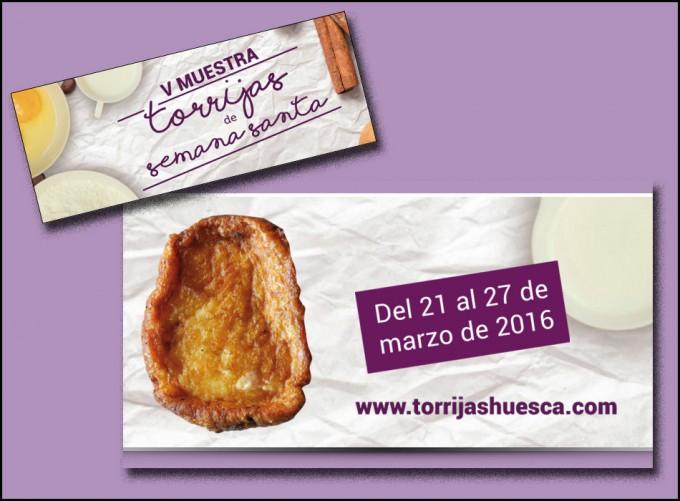 Muestra de Torrijas de Semana Santa en Huesca