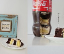 Coca-Cola Bottle Cake