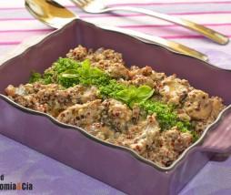 Receta de setas, quinua y tofu