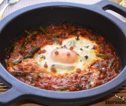 Receta con huevos