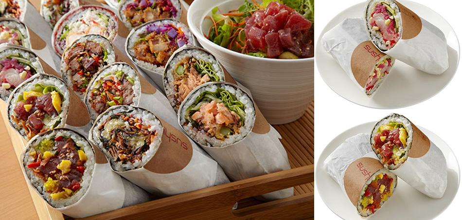 Sushi Burrito o Burrito de Sushi