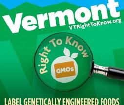 Alimentos modificados genéticamente en Vermont