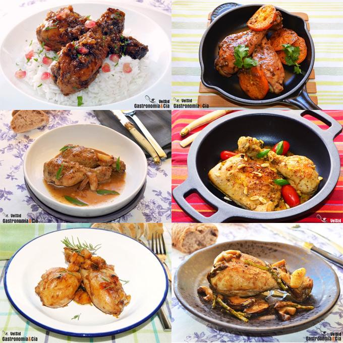 Muslo de pollo para dieta preparacion