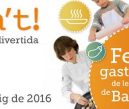 Alicia't 2016, Fiesta de la cocina fácil, sana y divertida