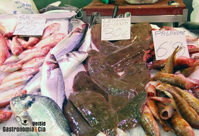 Denominaciones comerciales pescados, mariscos...