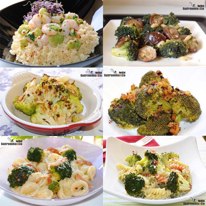 12 recetas con brócoli