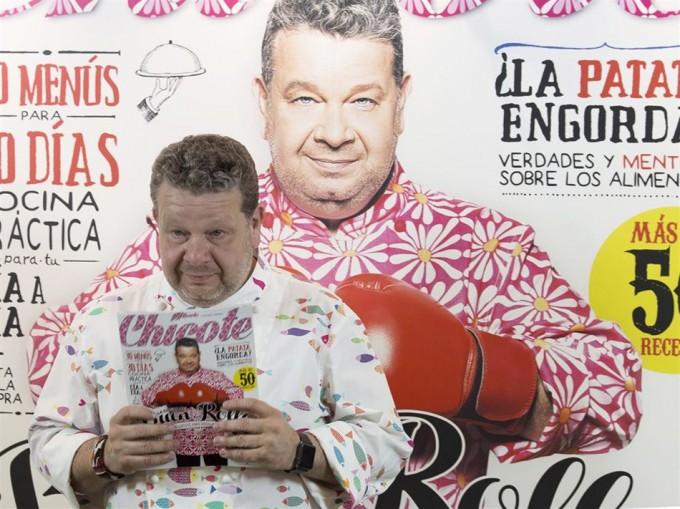 Alberto Chicote, la cocina del buen rollo