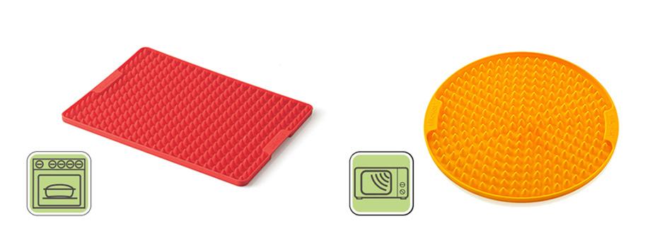 Tapete de silicona recoge grasas para horno y microondas gastronom a c a - Silicona para microondas ...