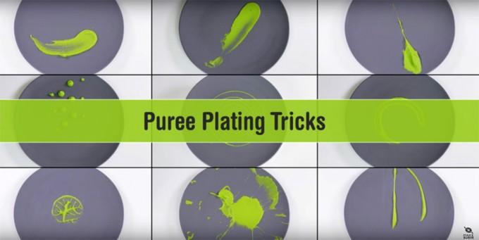 Cómo extender una salsa o puré (Vídeo)