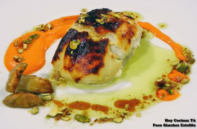Hoy Cocinas Tú: Bacalao gratinado con lactonesa de perrechicos