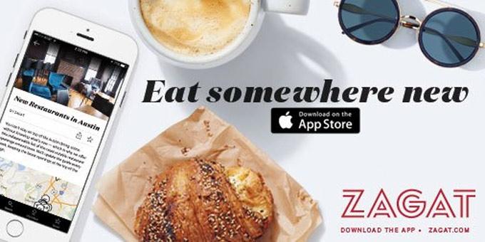 Aplicación de Zagat