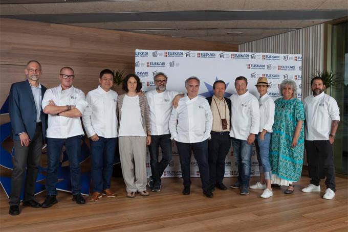 Jurado Basque Culinary World Prize