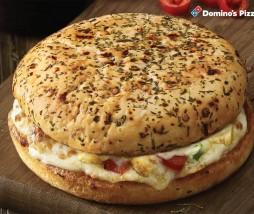 Hamburguesa y pizza