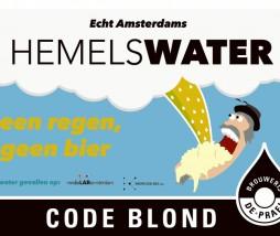 Hemelwater: code blonde