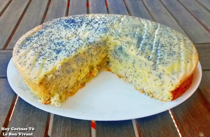 Hoy Cocinas Tú: Tarta de limón con semillas de amapola
