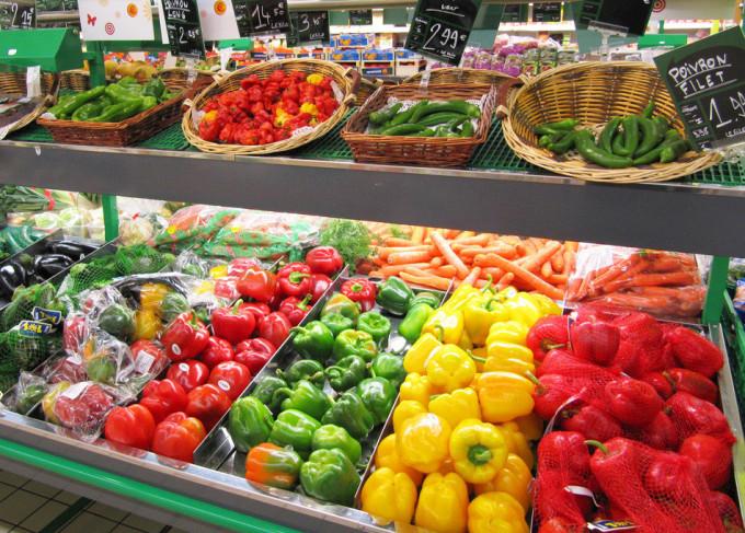 venta de comida basura en los supermercados