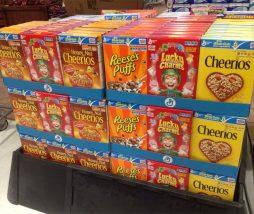 Cereales con elevado contenido en azúcares añadidos