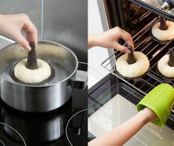 Molde para bagels