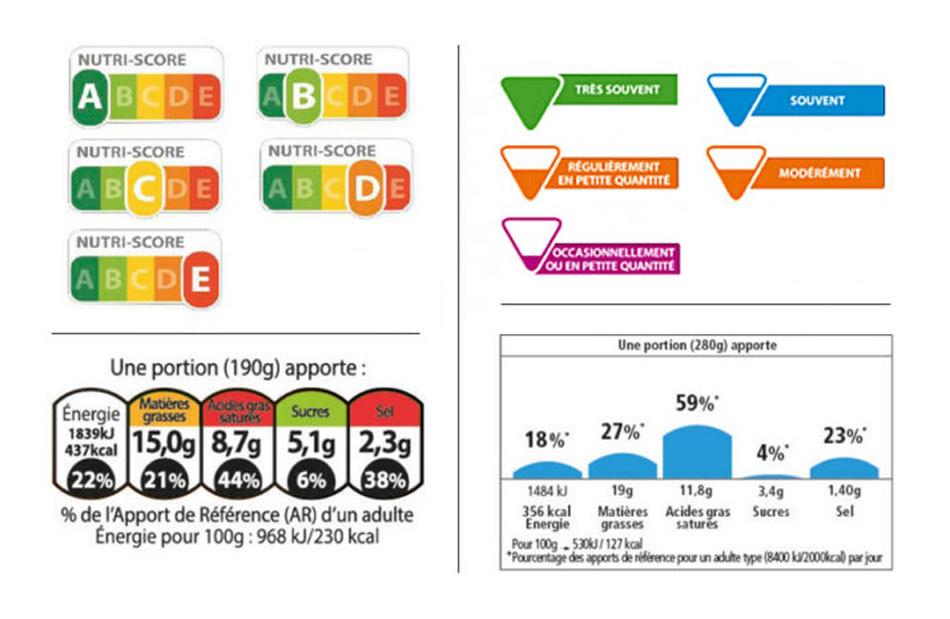 Francia prueba nuevas etiquetas alimentarias que identifican a los alimentos saludables