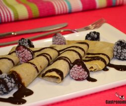 Receta de crepes fitness