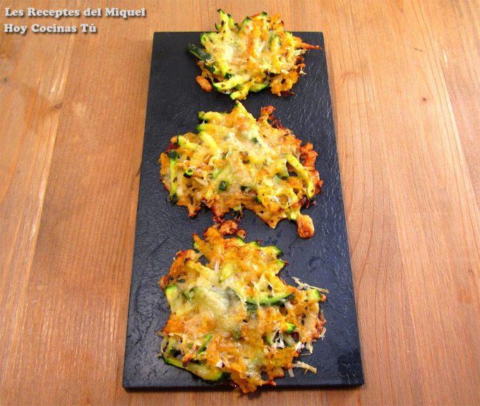 Hoy Cocinas Tú: Snacks de verduras y queso