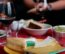 Maridar queso y vino
