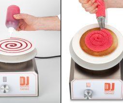 Dj Food Decor Turn Table