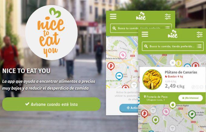 App para comprar comida a punto de caducar