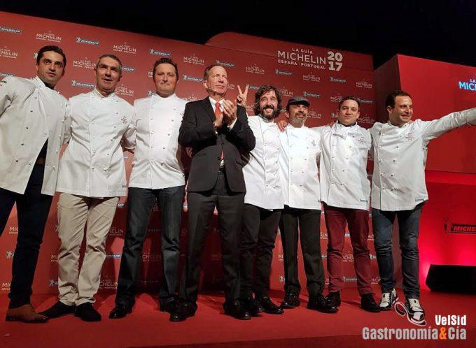 Nuevas estrellas en la Guía Michelin España y Portugal 2017