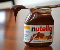 Ración estimada de Nutella