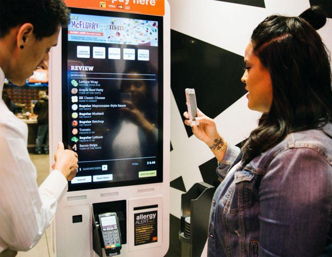 Nuevas tecnologías en McDonald's