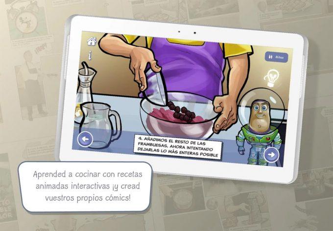 app de Ferrán Adrià y Disney que promueve hábitos saludables y cocinar en familia