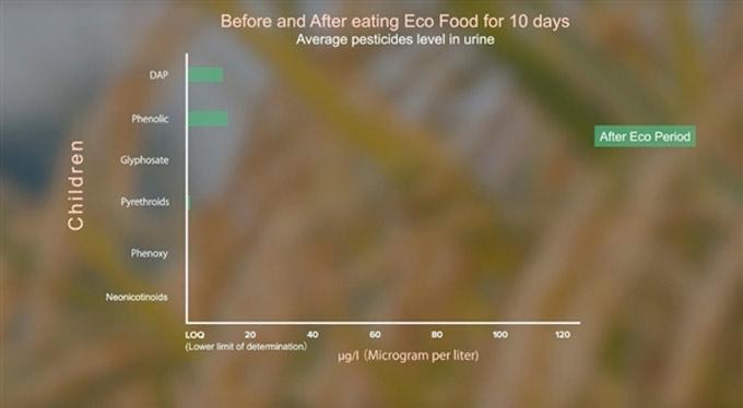Pesticidas presentes en los alimentos