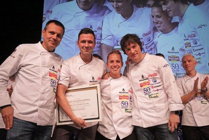 Lvaro salazar y pedro montolio ganadores de la 1 semifinal del concurso cocinero del a o - Restaurante argos ...