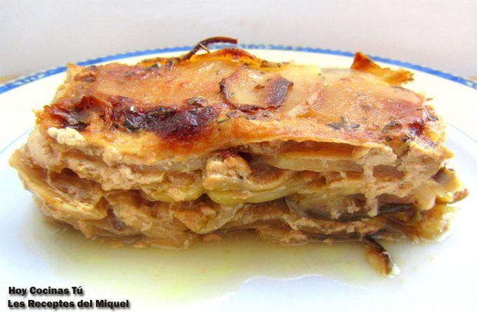 Hoy Cocinas Tú: Pastel de patata y boletus