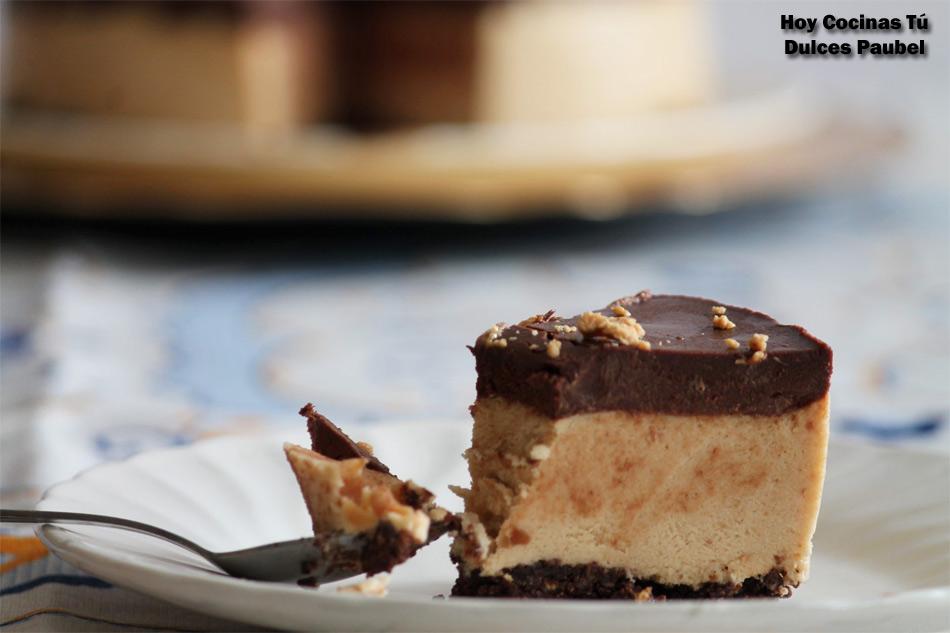 Hoy Cocinas Tú Tarta De Mousse De Turrón Y Chocolate Gastronomía Cía