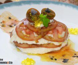 Receta de brandada de bacalao y tomate
