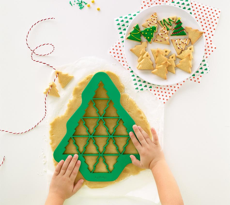 Cortador de galletas Árbol de Navidad múltiple