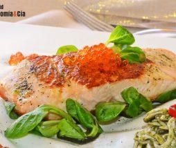Salmón, gulas y plancton