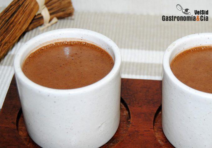 Chocolate instantáneo