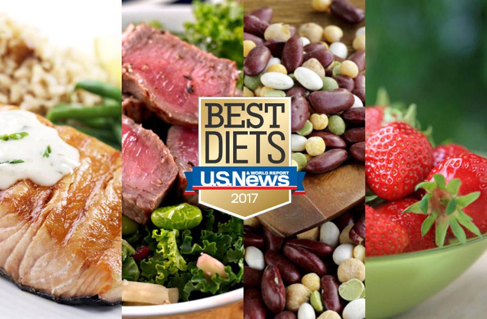Lista de las mejores dietas para el año 2017